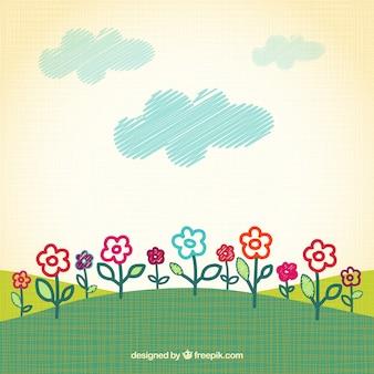 Dibujo Primavera