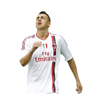 Stephan El Shaa, el AC Milan de la Serie A