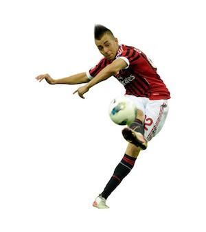 Stephan El Shaarawy AC Milan Serie A
