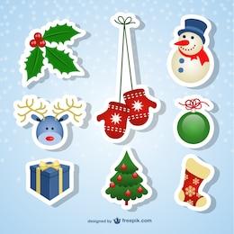 Stickers de navidad