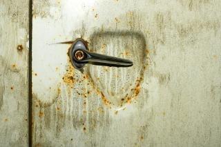 sucio de la pared