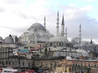Suleymaniye mezquita una cara de Estambul