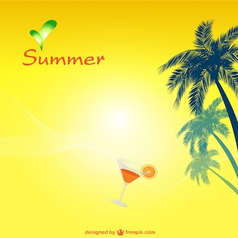 Vector gratis de verano