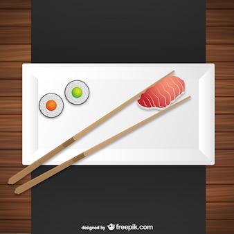 Plato de sushi
