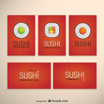 Plantillas de sushi