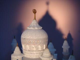 Taj Mahal, la cúpula mahal,