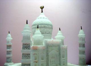Taj Mahal, la torre