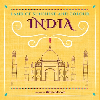 Vector gratis de Taj Mahal