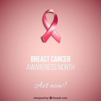 Tarjeta de cáncer de mama
