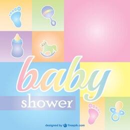 Tarjeta de felicitación para bebés
