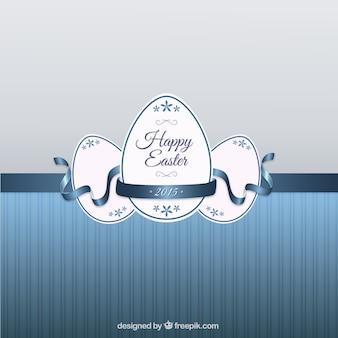 Tarjeta de felicitación para Pascua