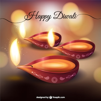 Tarjeta de feliz Diwali