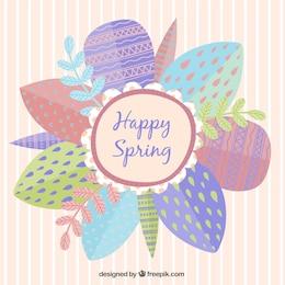 Tarjeta de Feliz Primavera