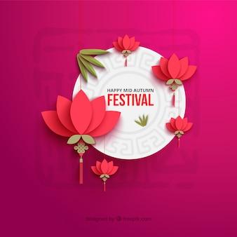 Tarjeta de festival de otoño