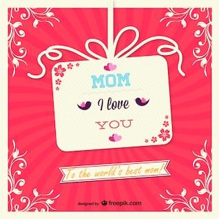 Tarjeta día de la madre