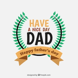 Tarjeta para el día del padre