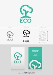 Tarjetas de visita de ecología