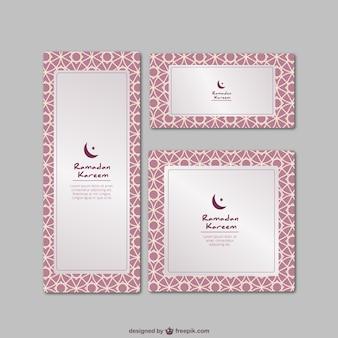 Tarjetas del Ramadán