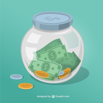 Tarro de dinero