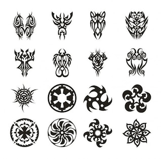 tatuaje conjunto de vectores