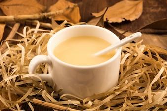 Taza blanca de café