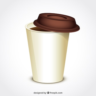 Taza de café por llevar