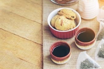 Té y galleta