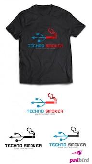 Tecnología de logotipo de la empresa de plantilla