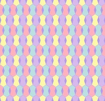 Telón de fondo hexagonal transparente moderna y creativa