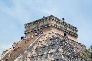 templo maya, mexico, iglesia