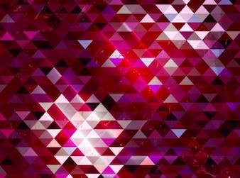 Tendencia decorativa de color neón de fondo conjunto de vectores