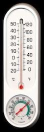 termómetro e higrómetro