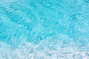 Textura de agua azul