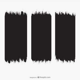 Textura de brochazos de pintura