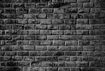 Textura de la pared de ladrillo oscuro