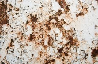 Textura de metal oxidado de bronce