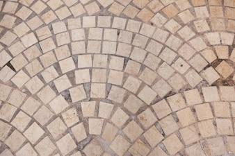 Textura de suelo hecha de ladrillos