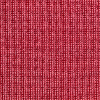 Textura de tela de microfibra de color rojo para el fondo