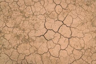 Textura de tierra seca y agrietada.