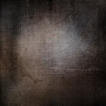 Textura grunge de una superficie metálica