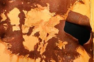 Textura grunge oxidado