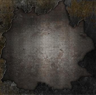Textura oscura de metal grunge