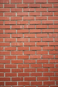 Textura vertical de una pared de ladrillos