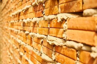 Textura y fondo de la pared de ladrillo