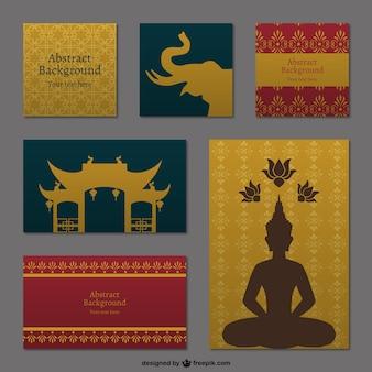 Fondos tailandeses paquete