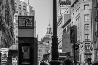 La ciudad en blanco y negro