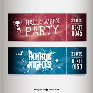 Tickets para fiesta de Halloween