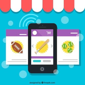 Tienda de deporte en línea