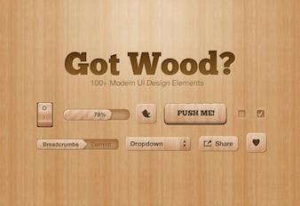 tiene madera de diseño LEMENTOS