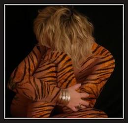 tigre mujer